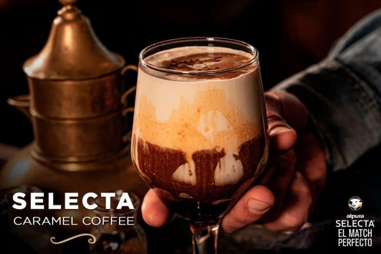 Selecta Caramel Coffee