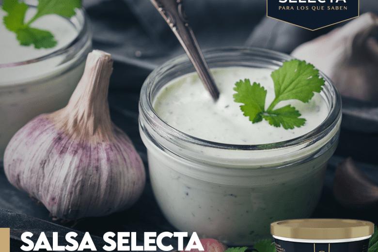 SALSA SELECTA DE AJO CONCILANTRO